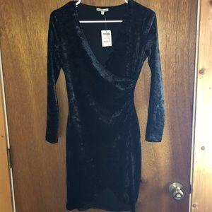 2 for $25❣️Charlotte Russe Velvet Black Dress